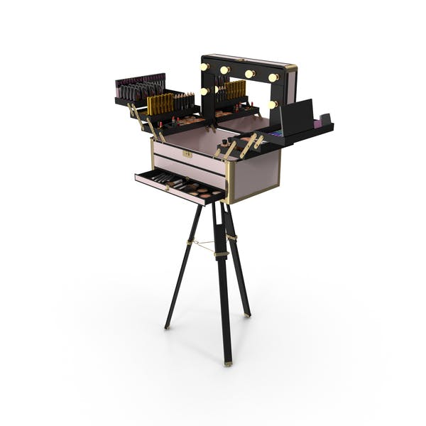 Cover Image for Portable Makeup Station
