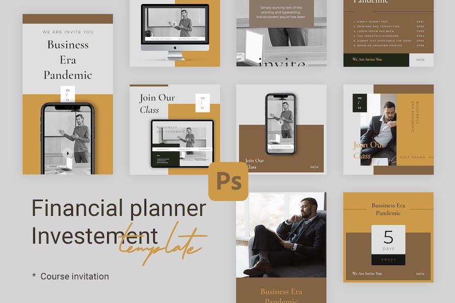 Course - Instagram Templates for Coach & Financial