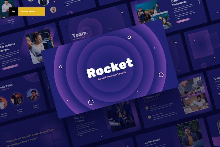 Rocket - Запуск Google слайдов Презентация