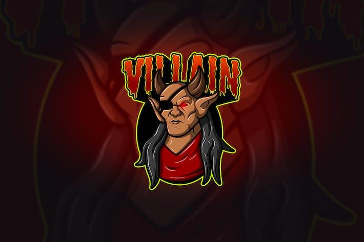 Thumbnail for Villain - Mascot & Esport Logo