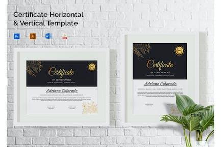 Adriano Colorado - Certificate