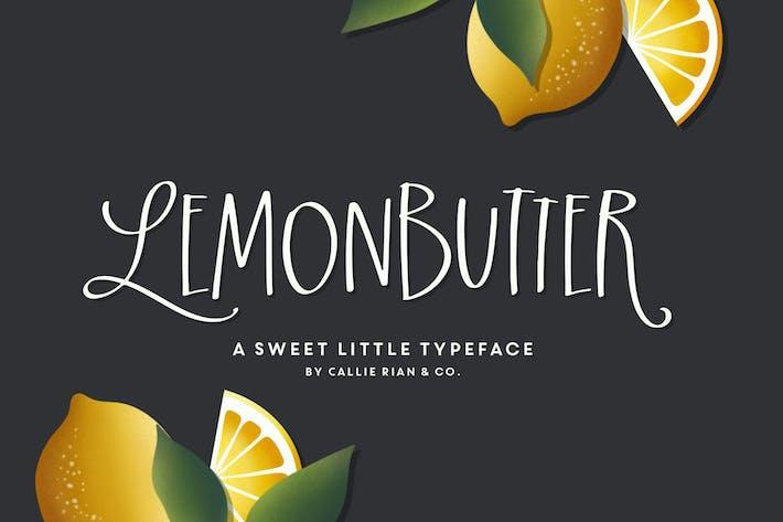 Lemonbutter Tipo de letra