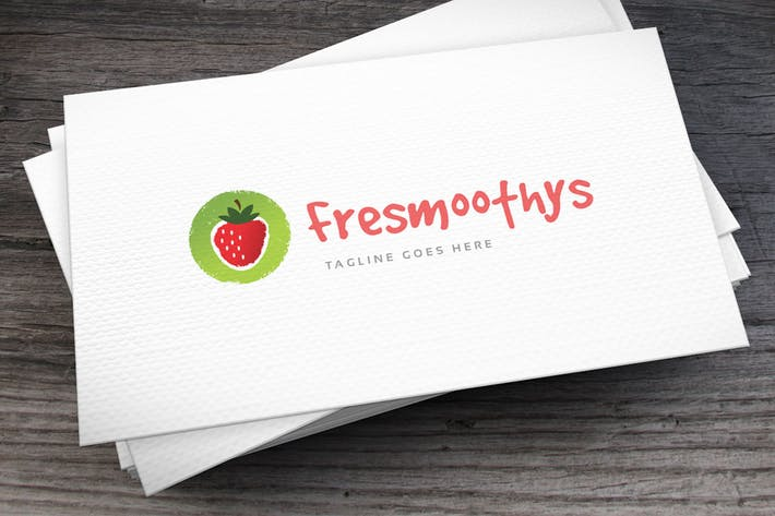 Thumbnail for Fresh Smoothies Logo Template