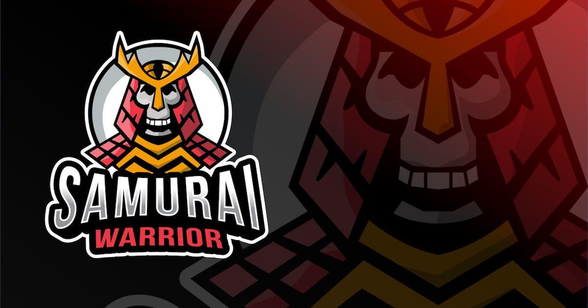 Download Samurai Warrior Esport Logo Template by IanMikraz