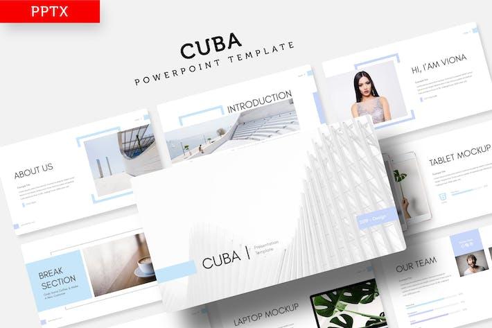 Cuba - Power Point Template