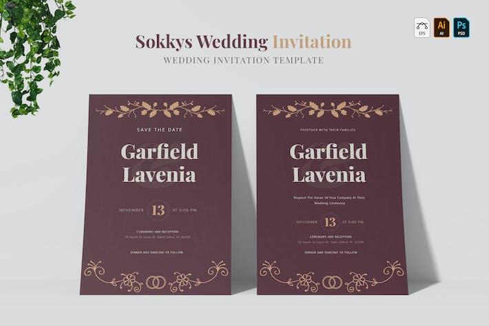 Thumbnail for Sokkys | Wedding Invitation