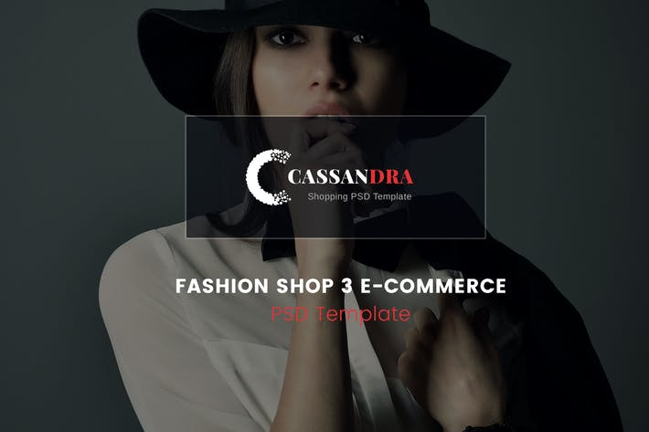 Thumbnail for Cassandra - Fashion Shop 3 e-commerce PSD Template