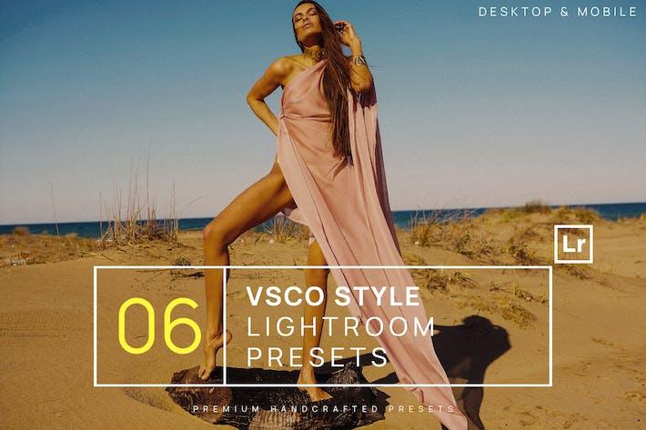 Thumbnail for 6 VSCO Style Lightroom Presets + Mobile