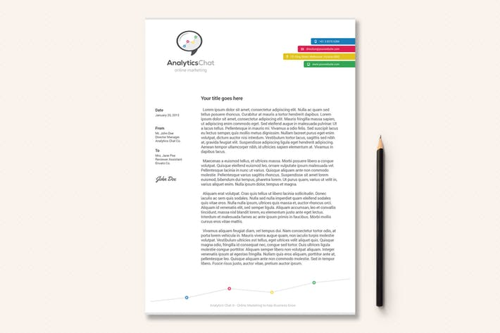 Thumbnail for Business Letterhead - Volume 01