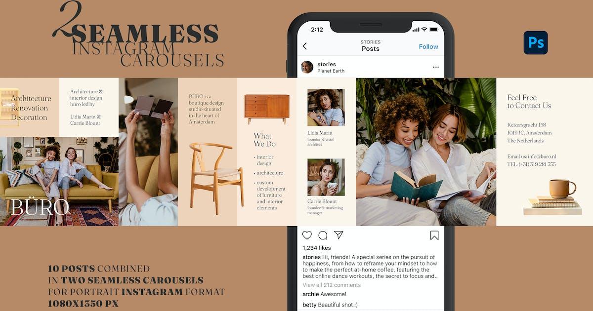 Download Instagram Marketing Carousels by Sko4