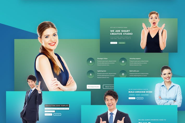 Thumbnail for Marketing Agency Psd Template