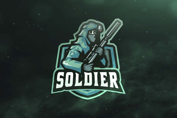 Thumbnail for Soldier Sport and Esports Logos