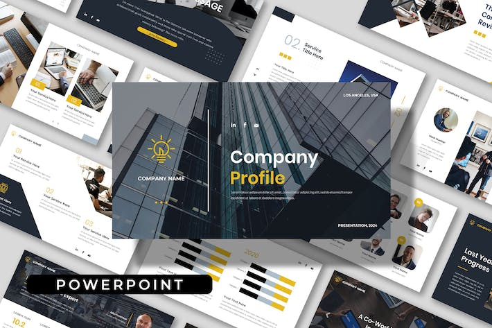 Company Profile - Business Powerpoint