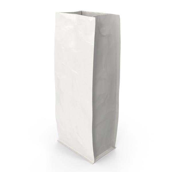 Thumbnail for Flat Bottom Pouche 1000g Open White
