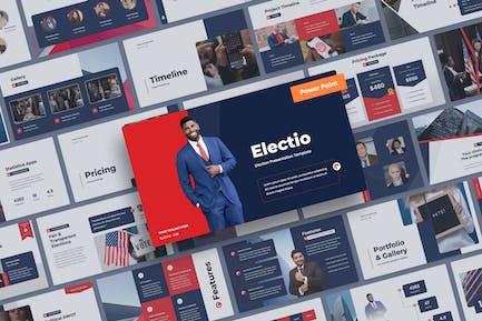 Electio - Election Power Point Presentation
