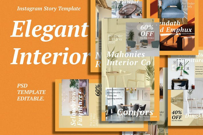 Interior Template Instagram Story