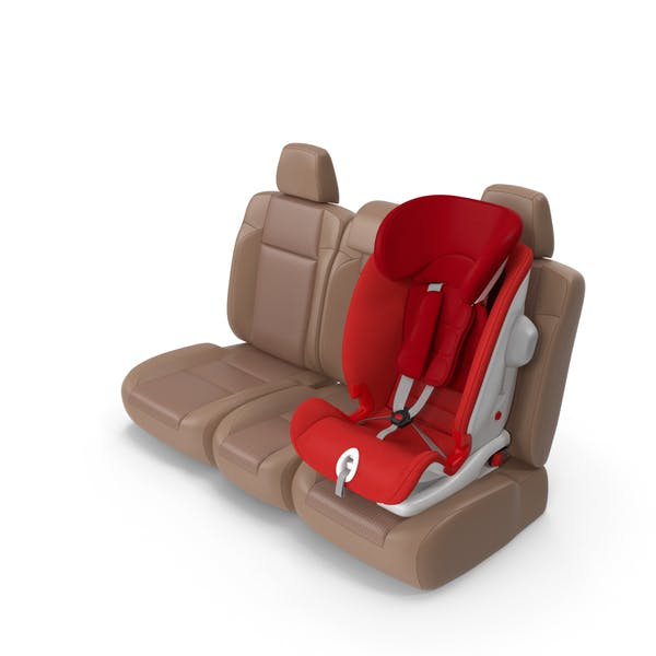 Child Safety Seat on Car Seat