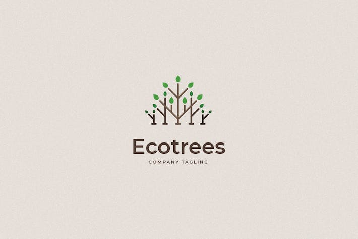 Thumbnail for Ecotrees Logo Template