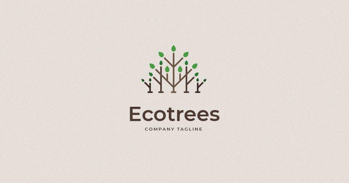 Download Ecotrees Logo Template by annabalashova