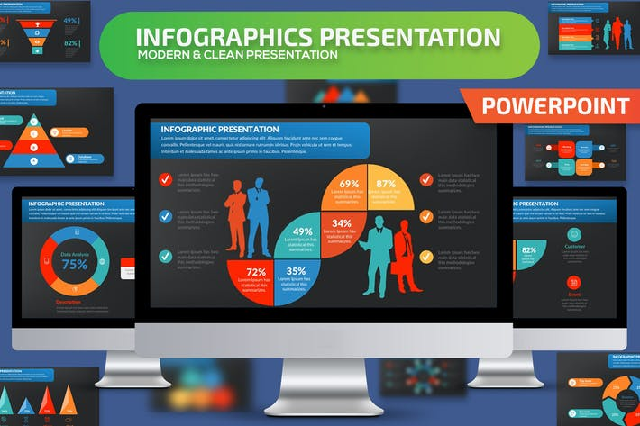 Cover Image For Infographics Set Powerpoint Presentation