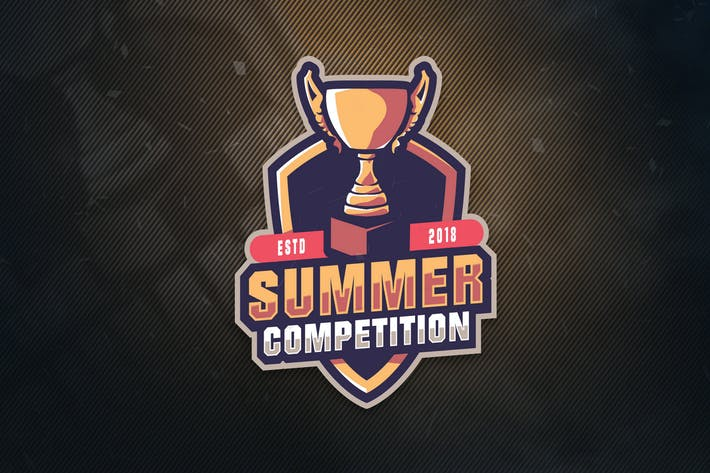 Thumbnail for Summer  Competition Sports Logo