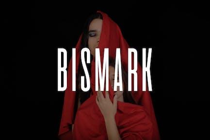 BISMARK - Display/Titulares/Logo Tipo de letra