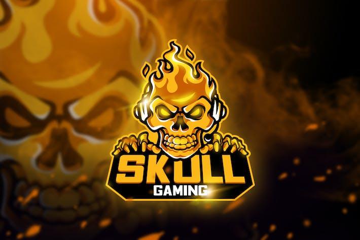 Thumbnail for Skull Gaming - Mascot & Esport logo