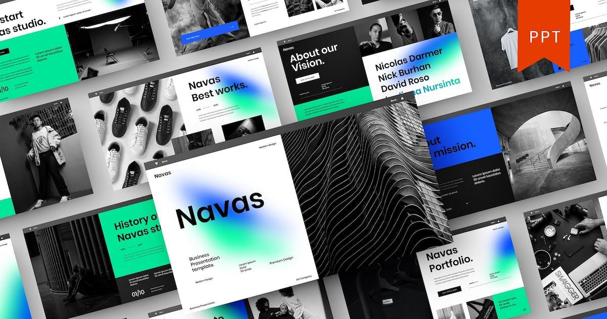 Navas – Business PowerPoint Template by DensCreativeStudio