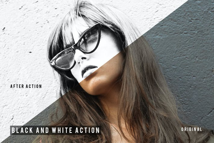 Thumbnail for Black And White Action