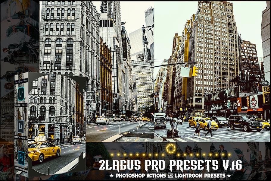 PRO Presets - V 16 - Photoshop & Lightroom