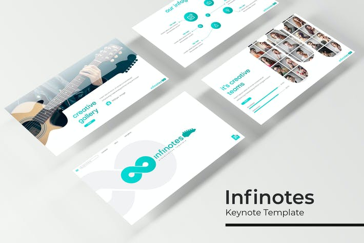 Thumbnail for Infinotes - Keynote Template