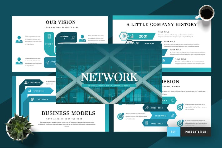 Создание сетей - презентация Keynote докладов