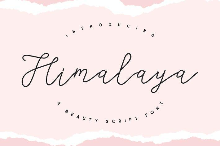 Thumbnail for Himalaya - Beauty Script Font
