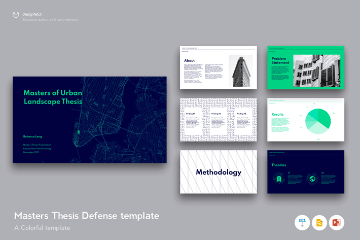 Thumbnail for Master Thesis defence template - 50 slides