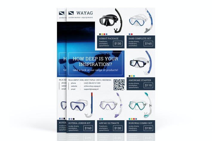 Thumbnail for Wayag : Retail Product Sales and Promotion Flyer