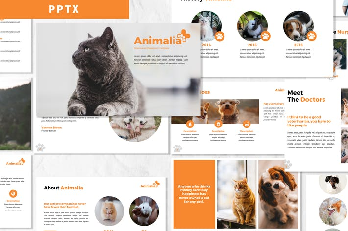 Thumbnail for Animalia - Powerpoint Template