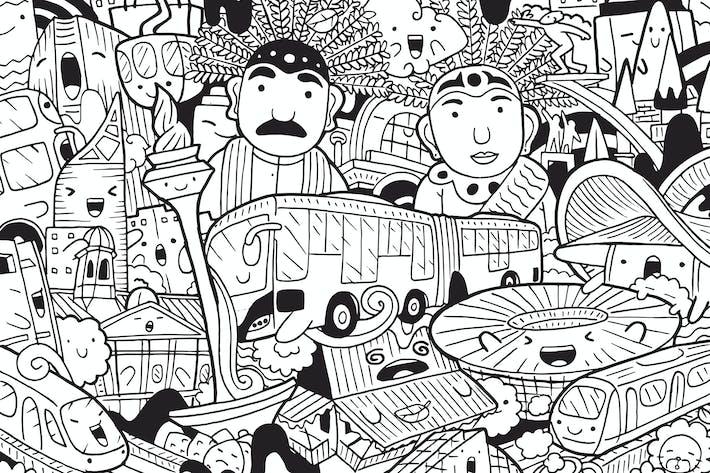 Cover Image For Jakarta Doodle