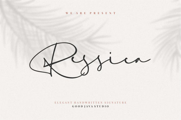 Ressica | Modern Script