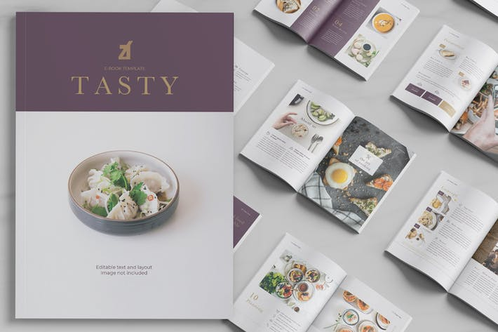 Thumbnail for Tasty Cookbook template