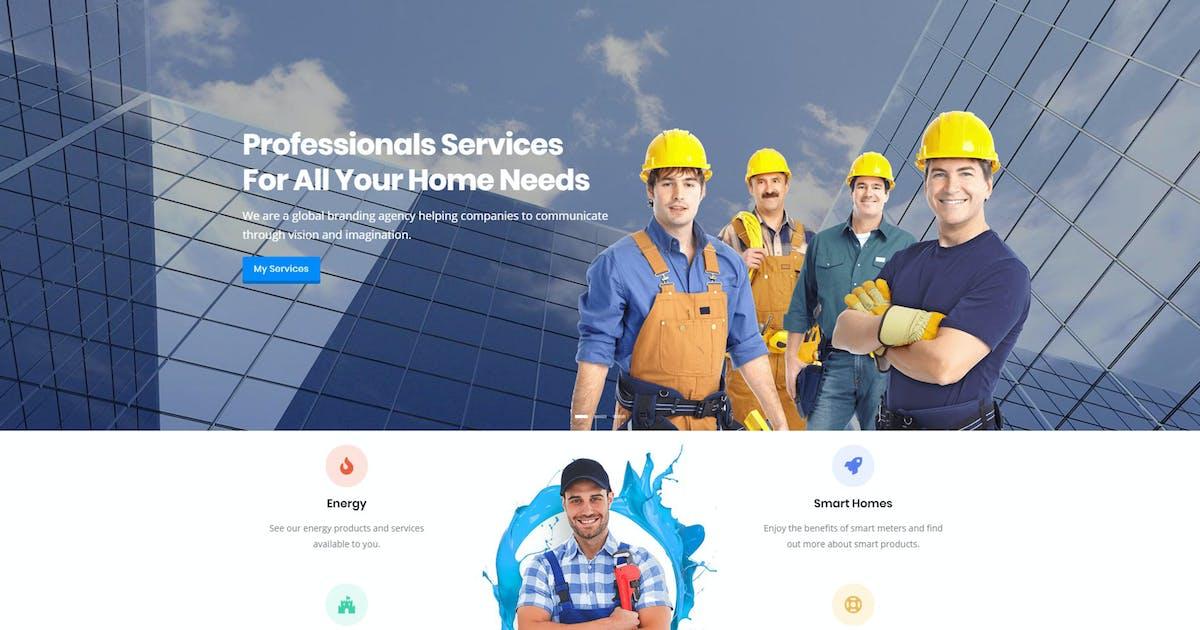 Download Castron - Home Maintenance Drupal 8 Theme by gavias
