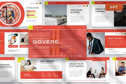 Govere - Powerpoint Presentation Template