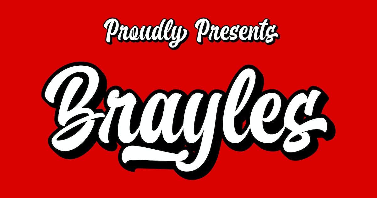 Brayles Bold Script by Blankids