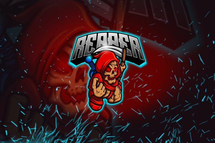 Thumbnail for The Reaper - Mascot & Esports Logo YR