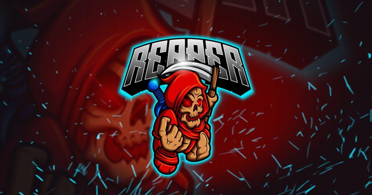 Download The Reaper - Mascot & Esports Logo YR by Rometheme
