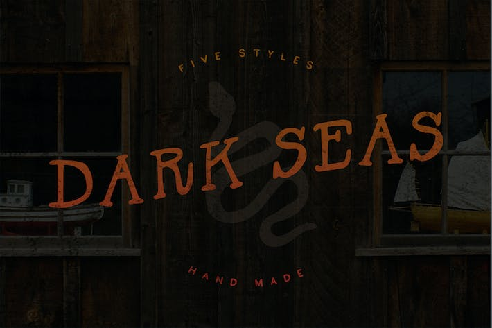 Thumbnail for Dark Seas - Five Styles!