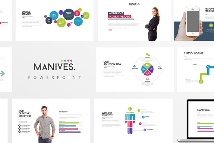 Thumbnail for Manives : Powerpoint Presentation