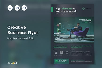 Creative Business Flyer 29 - Slidewerk