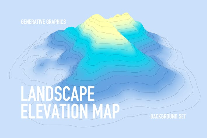 Thumbnail for Landscape Elevation Map Backgrounds