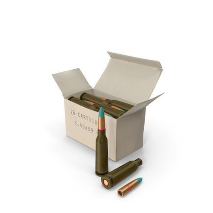 Caja de 5.45×39mm Cartucho Intermedio