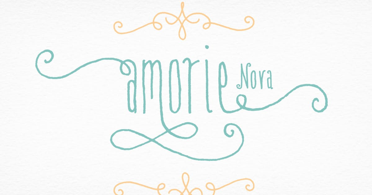 Download Amorie Nova Font Family by kimmydesign